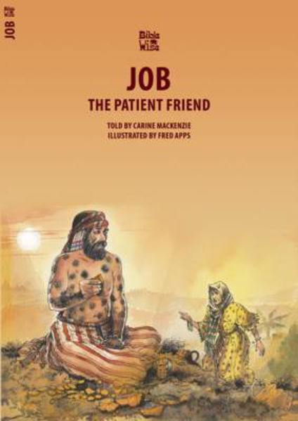 Picture of BIBLE WISE/JOB The patient friend