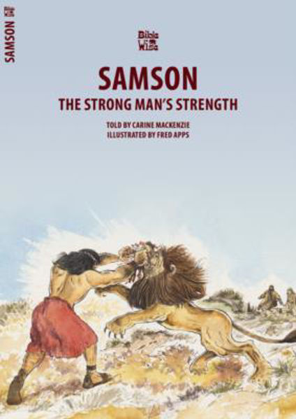 Picture of BIBLE WISE/SAMSON Strong man's strength
