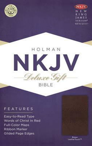 Picture of NKJV B&H Deluxe Gift Brown LeatherTouch