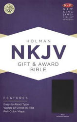 Picture of NKJV B&H Gift and Award Bible Black