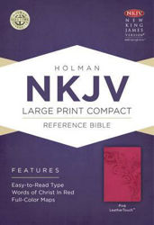 Picture of NKJV B&H Large Print Compact ref Pink