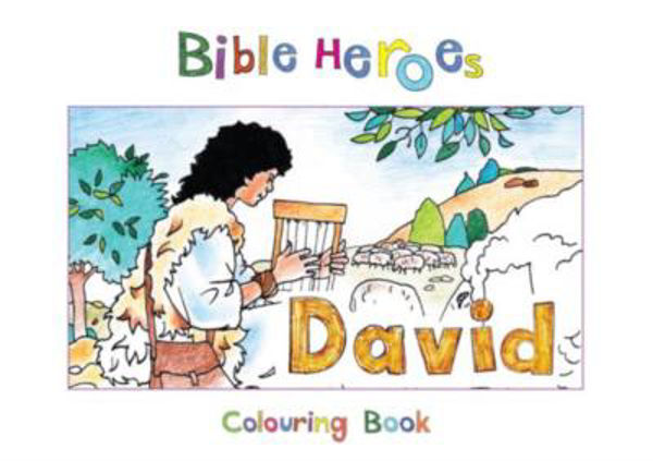 Picture of BIBLE HEROES/DAVID