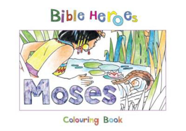 Picture of BIBLE HEROES/MOSES