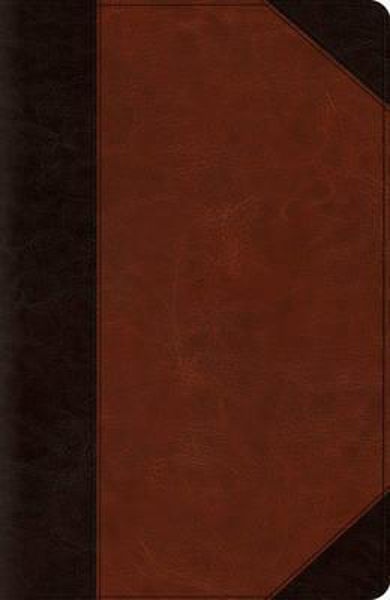 Picture of ESV NEW CLASSIC Reference BIBLE Brown Cordovan