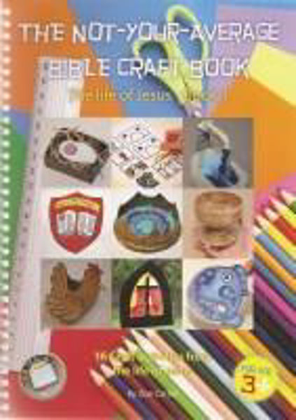 Picture of GO TEACH NOT-YOUR-AVERAGE CRAFT BOOK