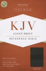 Picture of KJV B&H Giant Print Ref Brown Chocolate