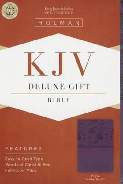 Picture of KJV B&H Deluxe Gift Purple Leathertouch