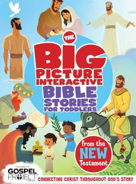 Picture of BIG PICTURE BIBLE STORIES FOR TODDLERS