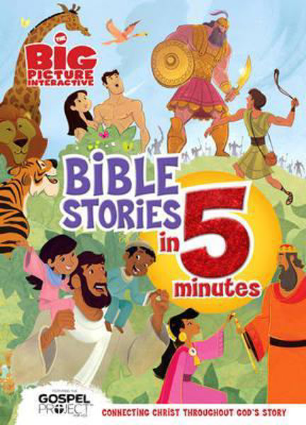 Picture of BIG PICTURE BIBLE STORIES IN 5 MINUTES