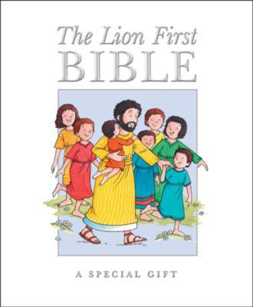 Picture of THE LION FIRST BIBLE Mini White