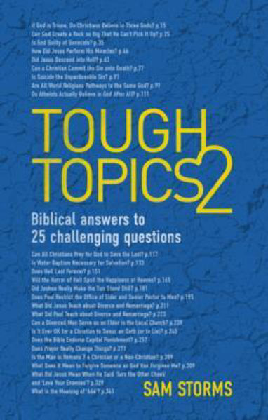 Picture of TOUGH TOPICS 2 Biblical answers