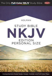 Picture of NKJV B&H STUDY BIBLE PERSONAL SIZE