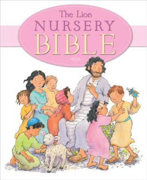 Picture of THE LION NURSERY BIBLE Pink