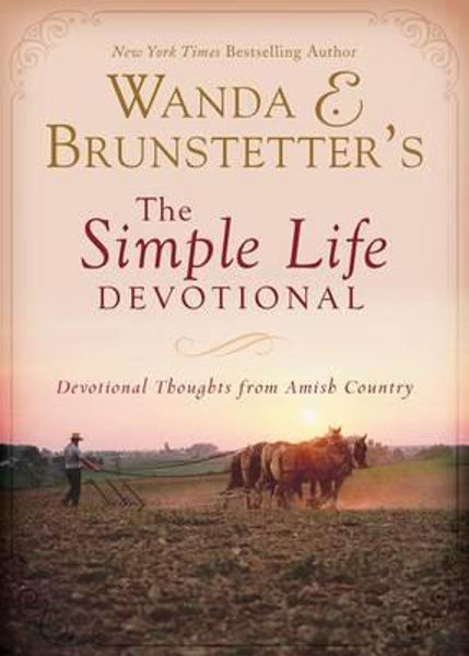 Picture of THE SIMPLE LIFE DEVOTIONAL Amish thoughts