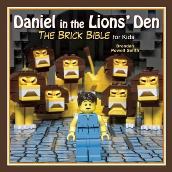 Picture of THE BRICK BIBLE/Daniel in the Lion's Den