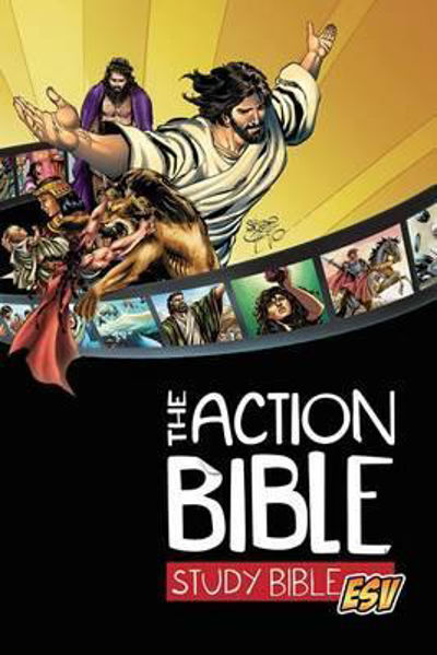 Picture of ESV THE ACTION BIBLE STUDY BIBLE Hardcov