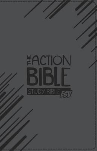 Picture of ESV THE ACTION BIBLE STUDY BIBLE Grey