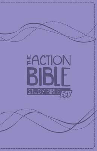 Picture of ESV THE ACTION BIBLE STUDY BIBLE Lavende