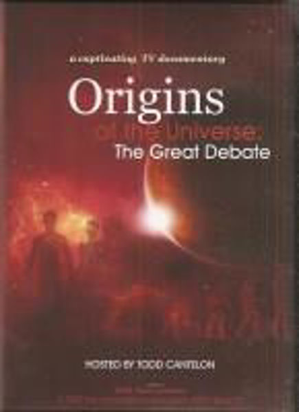Picture of ORIGINS OF THE UNIVERSE THE GREAT DEBATE