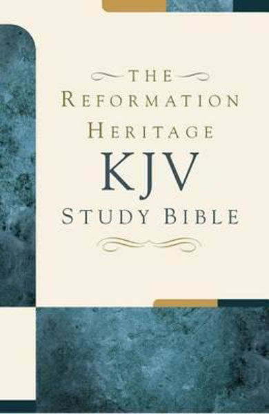 Picture of KJV THE REFORMATION HERITAGE STUDY BIBLE Hardcover edition
