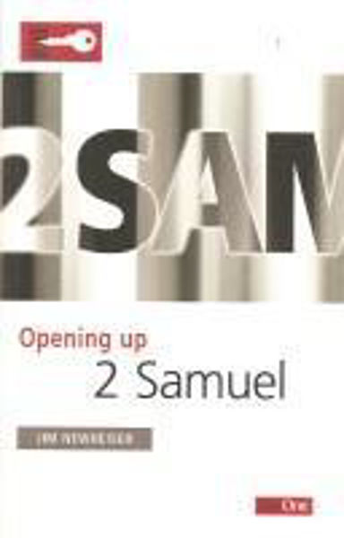 Picture of OPENING UP/2 SAMUEL