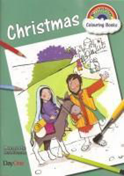 Picture of RAINBOW CHRISTMAS COLOURING BOOK