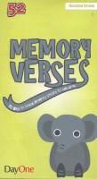Picture of 52 MEMORY VERSES