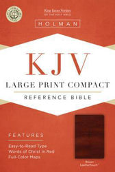Picture of KJV B&H LP COMPACT Reference Brown LthTo