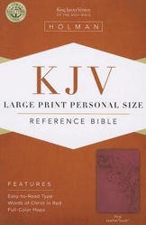 Picture of KJV B&H LP PERSONAL Reference Pink LeatherTouch