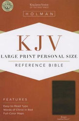 Picture of KJV B&H LP PERSONAL Reference Brown LthT
