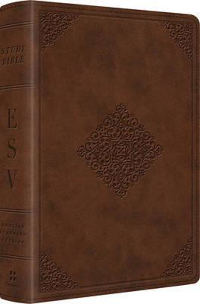 Picture of ESV PERSONAL STUDY BIBLE TruTone Saddle