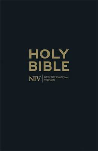 Picture of NIV 2011/THINLINE BIBLE Black Leather