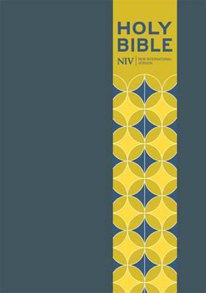 Picture of NIV 2011/POCKET BIBLE Blue Soft-tone with clasp