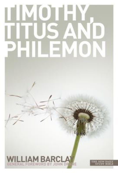 Picture of WILLIAM BARCLAY/LETTERS to TIMOTHY, TITUS & PHILEMON