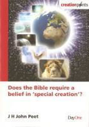 Picture of DOES THE BIBLE REQUIRE A BELIEF IN SPECI
