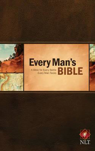 Picture of NLT EVERY MAN'S BIBLE Hardback