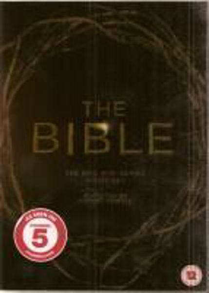 Picture of THE BIBLE MINI SERIES 4 DVD disc box set
