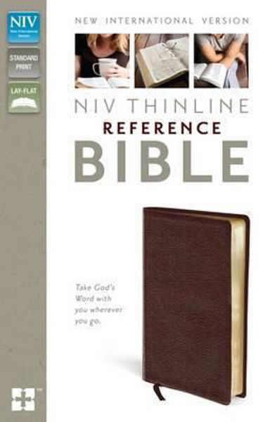 Picture of NIV 2011/THINLINE Reference Bible Burgundy Bonded Leather