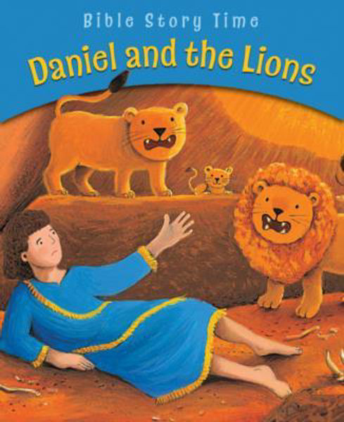 Picture of BIBLE STORY TIME/DANIEL AND THE LIONS