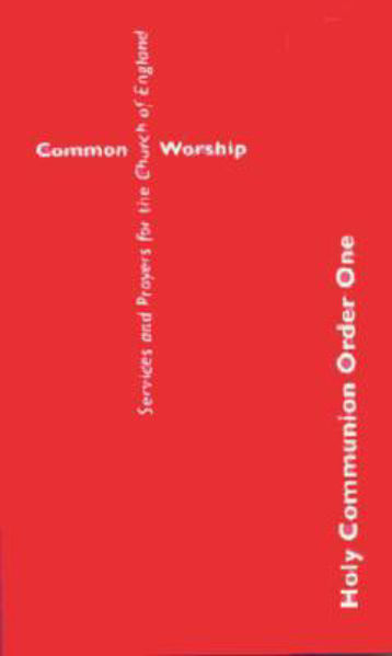 Picture of HOLY COMMUNION Order One Common Worship