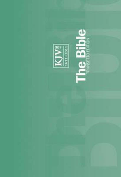 Picture of KJV Transetto Text Edition - Green