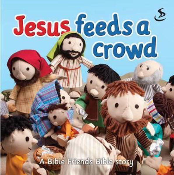 Picture of BIBLE STORYBOOK/JESUS FEEDS A CROWD
