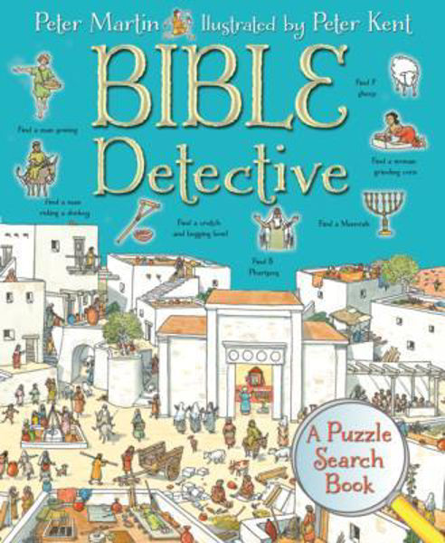Picture of BIBLE DETECTIVE A Puzzle search book