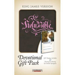 Picture of KJV DEVOTIONAL GIFT PACK Brown Chocolat