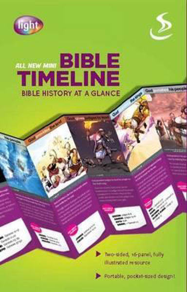 Picture of ALL NEW MINI BIBLE TIMELINE PK 10