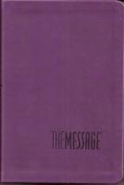 Picture of THE MESSAGE/COMPACT Purple leather like
