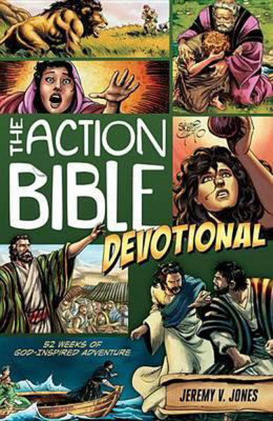 Picture of THE ACTION BIBLE Devotional 52 weeks