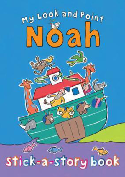 Picture of MY LOOK AND POINT NOAH sticker book