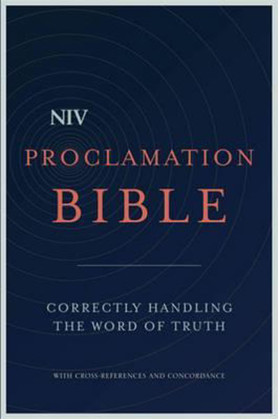 Picture of NIV 2011/PROCLAMATION BIBLE