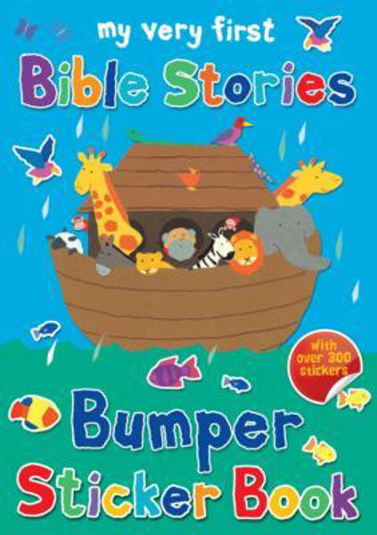 Picture of MY VERY FIRST BIBLE STORIES Bumper Sticker Book